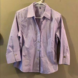 Foxcroft Lavender Dress Shirt